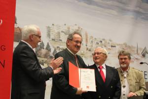 Ehrung für 66 Jahre SPD Mitgliedschaft
