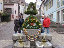 Osterbrunnen 2013 Brunnengasse
