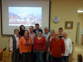 SPD Höchberg Unterstützung für Alexander Knahn (Hinten Mitte)